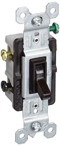 PASS & SEYMOUR 663GTU BRN Grnd 3Wy Tog Switch ()