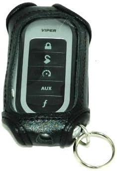 Black Leather Remote Case for Viper 7251V 7152V 7652V 7341V Remotes
