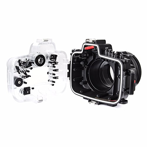 SeaFrogs 40M 130ft Diving Waterproof Housing Case for Canon 5D III IV 5D3 5D4 Supports 24-105mm Lens by SeaFrogs (Image #2)