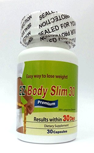 EZ Body Slim 30 - Appetite Control with Energy, Safe and Fast Weight Loss, Results in Just 30 Days by Green 3