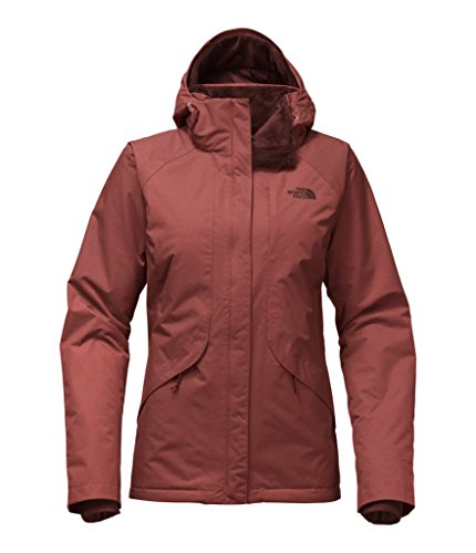The North Face Women's Inlux Insulated Jacket Barolo Red Heather Jacket ()