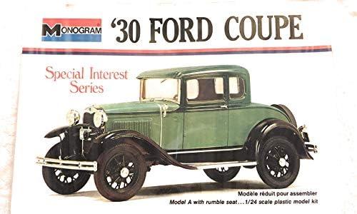 Amazon Com 1930 Ford 5 Window Model A Coupe 1 24 Monogram