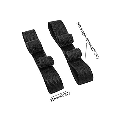 WPHMOTO Pair Replacement Straps Fastener Belts for Hover Kart HoverCart Go Kart Seat Attachment: Automotive
