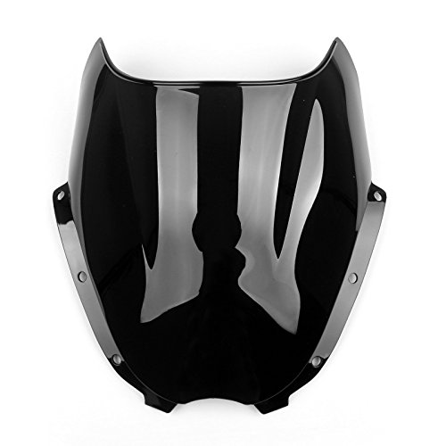 Areyourshop Windshield WindScreen Double Bubble For Hyosung GT125 GT250R GT650R ()