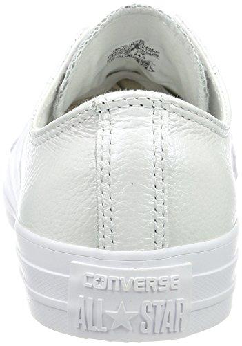 Converse Cta Ox Mens Skateboard-skor 558.009 Vit / Vit / Vit