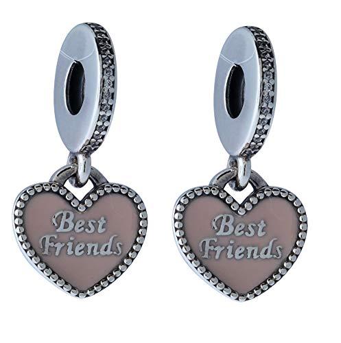 Pandora Women's 791950CZ Best Friends Dangle Charm (Pandora Charm Best Friends)