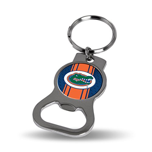 Florida Gators Official NCAA 3 inch Bottle Opener Key Chain Keychain by Rico Industries (Ncaa Bottle Opener)