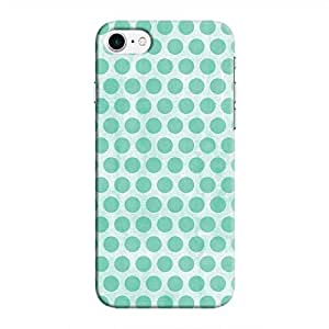Cover It Up - Blue Polka iPhone 8 Hard Case