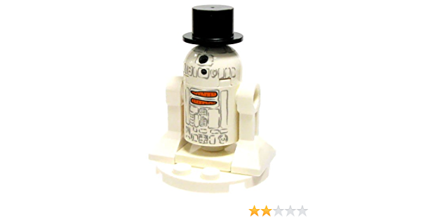 Lego Star Wars R2-D2 Snowman Edition New And Sealed