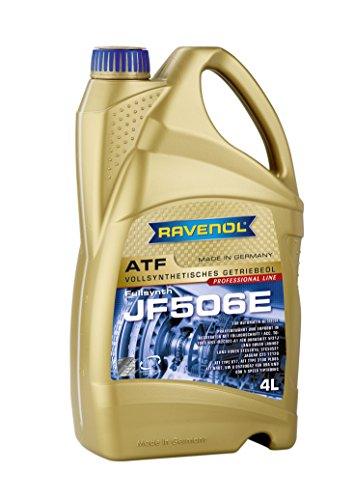 RAVENOL J1D2109-004 ATF (Automatic Transmission Fluid) - JF506E Full Synthetic for 5-Speed JACTO Automatic Transmissions (4 Liter) by Ravenol