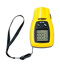 Sperry Instruments IRT100 Temperature Check Infared Thermometer, Pocket Style, Instant Reading, 6:1 Distance to Spot Ratio, Black & Yellow