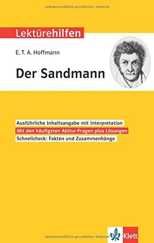 Klett Lektürehilfen E.T.A. Hoffmann, Der Sandmann: Interpretationshilfe f{