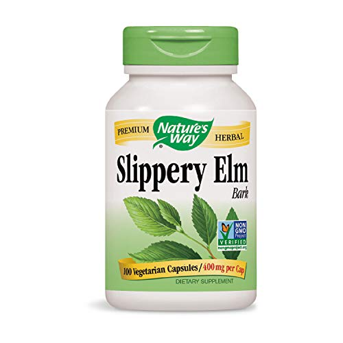 (Nature's Way Slippery Elm Bark (Packaging May Vary))