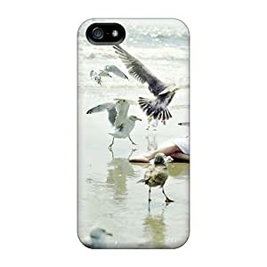 Special Design Back Girl The Birds Phone Cases Covers For Case Iphone 5/5S Cover