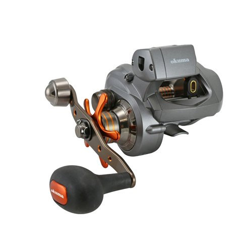 Okuma Coldwater 350 Low Profile Linecounter Reel CW354D, Right Hand (Best Fishing Line For Casting Reel)