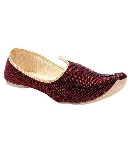 clearance limited edition visa payment Sunlife Mehta's Maroon Jutti low cost for sale OqK5wXqRqo