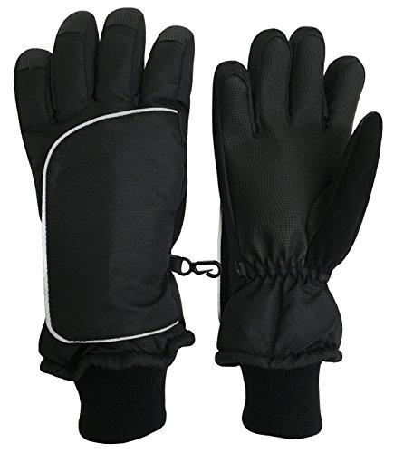 NIce Caps Little Kids Easy On Wrap Thinsulate Waterproof Winter Gloves