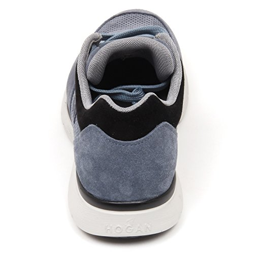C9940 sneaker uomo HOGAN H254 scarpa H 3D blu chiaro denim shoe man blu chiaro denim