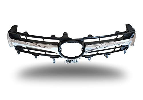 For 2015-2017 Toyota Camry SE//XSE Glossy Black Sport Front Lower Bumper Grille