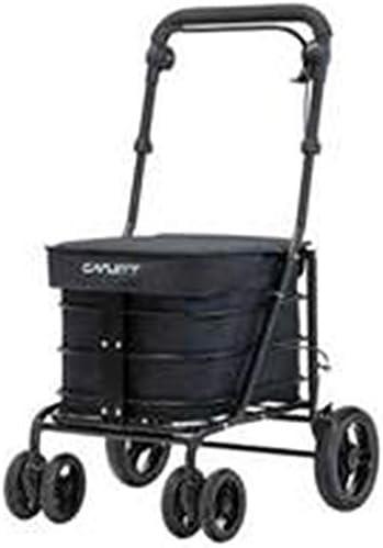 Carlett Carro DE Compra Negro, 84x49x91 cm