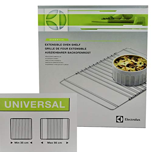 Universal Extendable Replacement Oven Shelf by Electrolux, 35mm-56mm