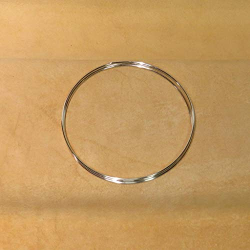 Golden State Silver 9999 Pure Silver 14 Gauge (0.064 in. / 1.63 mm) Colloidal Silver Wire - 36 inch Coil (3 feet) - Guaranteed 99.99%+
