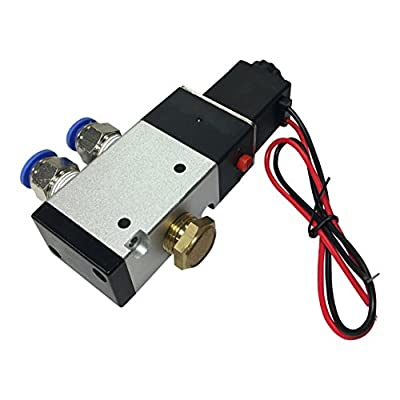 "3-Way Solenoid Valve 3/8"" With All Fittings (12-Volt) by HFX"