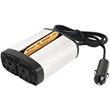 Wagan 2402-5 Smart AC 200W Inverter with 5V 2.1Amps. USB Power Port