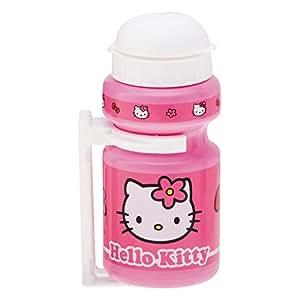 Bike Fashion 816057 Hello Kitty - Cantimplora de plástico color rosa