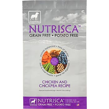 Dogswell Nutrisca Grain Free Chicken and Chickpea Recipe- 28 lb, My Pet Supplies