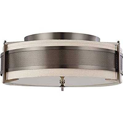 Nuvo Lighting Nuvo Diesel 4-Light Large Flush Mount
