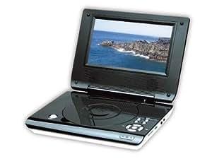 Elbe PDVD7060USB - Reproductor de DVD portátil 7 pulgadas, toma USB/SD, color negro