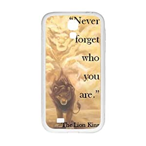 Custom Personalizied The Lion King Samsung Galaxy S4 Silicone Case