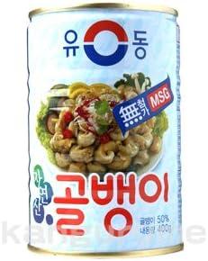 韓グルメ-KANGURUME ツブ貝缶詰「大」400g