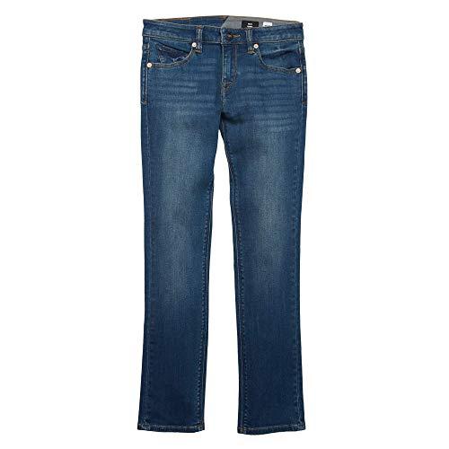 Volcom Big Boys' 2x4 Jeans, Dust Bowl Indigo, 25
