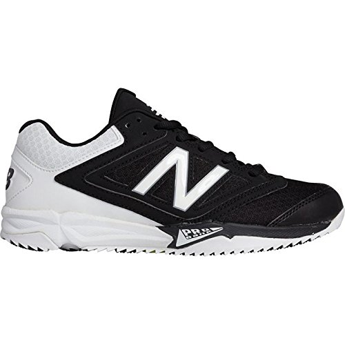 New Balance Women's ST4040B1, Black/Whit, 6 B US