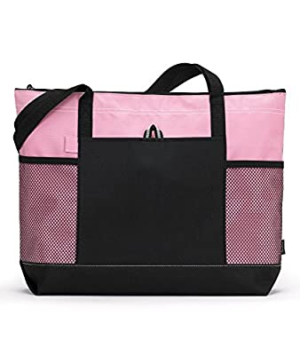 Gemline Select Zippered Tote Bag 1100