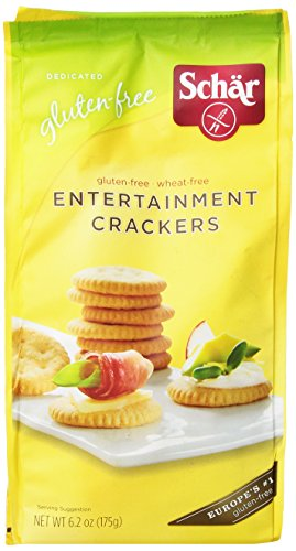 Schar Gluten Free Entertainment Crackers, 6.2 Ounce