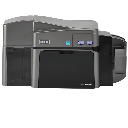 Fargo 50120 DTC1250e ID Card Printer Dual-Sided with Ethernet by Fargo