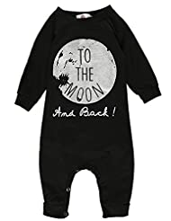 Zhuannian Baby Boys Romper Toddler Long Sleeve Jumpsuit Outfits