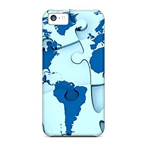 High Quality Richardcustom2008 3d Abstract Skin Cases Covers Specially Designed For Iphone - 5c