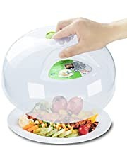 Microwave Splatter Cover Microwave Cover for Food Microwave cover Microwave Plate Cover Microwave Bacon Food Cover Cooker Lid with Steam Vents 11.5 Inch BPA Free,Dishwasher Safe-green??