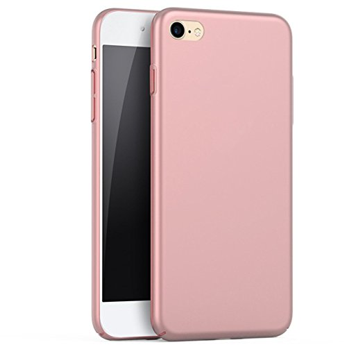 iBarbe iPhone 6 Case, iPhone 6s Case, Shock Absorption Scratch Resistant Bumper slim Hard Plastic Cover Case for apple iPhone 6 (2014)/iPhone 6s (2015) - Rosegold -