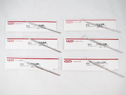 Dental Thin Williams Color Code Probe PCP12 Kit 6/Pcs HU FRIEDY Original by HU FRIEDY (Image #1)