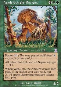 Magic: the Gathering - Verdeloth the Ancient - Timeshifted - Foil
