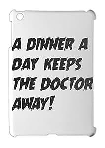 a dinner a day keeps the doctor away! iPad mini - iPad mini 2 plastic case
