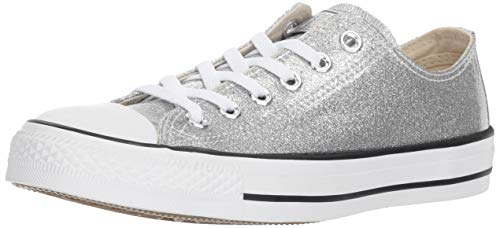 Converse Women's Chuck Taylor All Star Glitter Canvas Low Top Sneaker