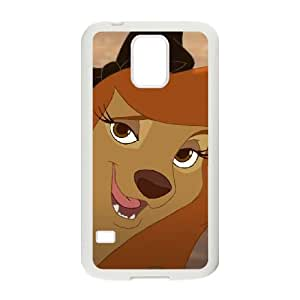 Disney The Fox and the Hound 2 Character Cash Samsung Galaxy S5 Cell Phone Case White Blrks