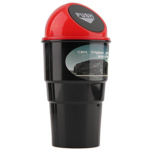 Buildent(TM)Mini Qualified Delicate Delicate Car garbage can vehicle Trash Can (Bu Bin)