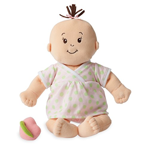 Manhattan Toy Baby Stella Sweet Sounds Soft First Baby Doll for Ages 1 Year and Up, 15""